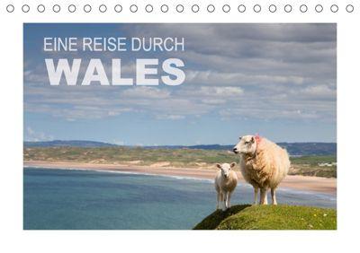 Eine Reise durch Wales (Tischkalender 2018 DIN A5 quer), Ingrid Steiner & Günter Hofmann
