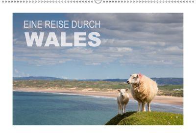 Eine Reise durch Wales (Wandkalender 2018 DIN A2 quer), Ingrid Steiner & Günter Hofmann