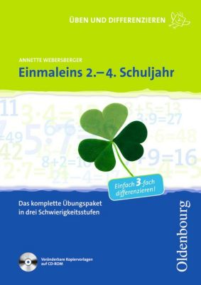 Einmaleins 2.-4. Schuljahr, mit CD-ROM, Annette Webersberger