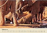 Elefantenkinder. Spielplatz Savanne (Wandkalender 2018 DIN A3 quer) - Produktdetailbild 2