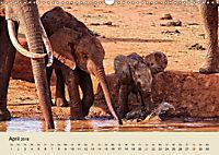 Elefantenkinder. Spielplatz Savanne (Wandkalender 2018 DIN A3 quer) - Produktdetailbild 4