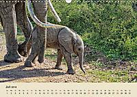 Elefantenkinder. Spielplatz Savanne (Wandkalender 2018 DIN A3 quer) - Produktdetailbild 7