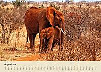 Elefantenkinder. Spielplatz Savanne (Wandkalender 2018 DIN A3 quer) - Produktdetailbild 8