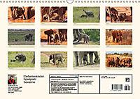 Elefantenkinder. Spielplatz Savanne (Wandkalender 2018 DIN A3 quer) - Produktdetailbild 13