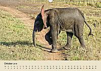 Elefantenkinder. Spielplatz Savanne (Wandkalender 2018 DIN A3 quer) - Produktdetailbild 10