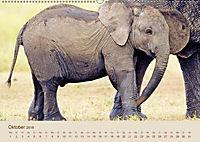 Elefantenkinder: Winzlinge im Land der Riesen (Wandkalender 2018 DIN A2 quer) - Produktdetailbild 10