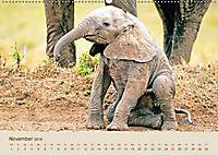 Elefantenkinder: Winzlinge im Land der Riesen (Wandkalender 2018 DIN A2 quer) - Produktdetailbild 11