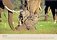 Elefantenkinder: Winzlinge im Land der Riesen (Wandkalender 2018 DIN A2 quer) - Produktdetailbild 7