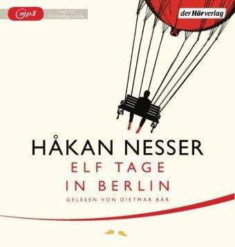 Elf Tage in Berlin, 1 MP3-CD, Håkan Nesser