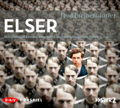 Elser, 2 Audio-CDs, Fred Breinersdorfer