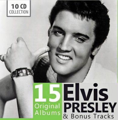 Elvis Presley 15 Original Albums & Bonus Tracks, 10 CDs, Elvis Presley