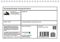 Emotionale Momente: Hirschbrunft. Part III. (Tischkalender 2018 DIN A5 quer) - Produktdetailbild 13