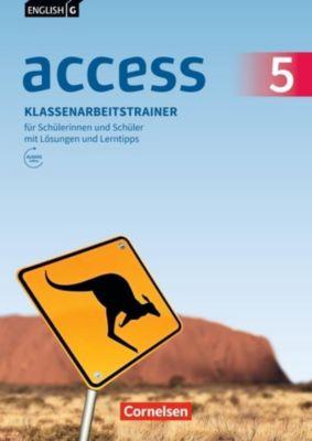 English G Access - Allgemeine Ausgabe: .5 9. Schuljahr, Klassenarbeitstrainer für Schülerinnen und Schüler mit Lösungen und  Lerntipps