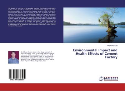 Environmental Impact and Health Effects of Cement Factory, Kifayat Hussain