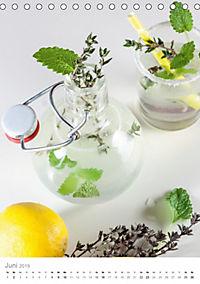 Erfrischendes Vitaminwasser (Tischkalender 2019 DIN A5 hoch) - Produktdetailbild 6
