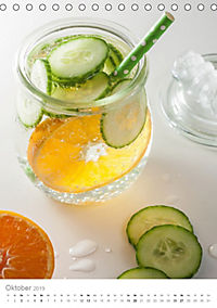 Erfrischendes Vitaminwasser (Tischkalender 2019 DIN A5 hoch) - Produktdetailbild 10