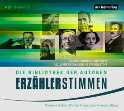 Erzählerstimmen, 44 Audio-CDs, Diverse Interpreten