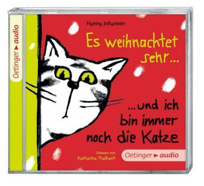 Es weihnachtet sehr ... und ich bin immer noch die Katze, Audio-CD, Hanna Johansen