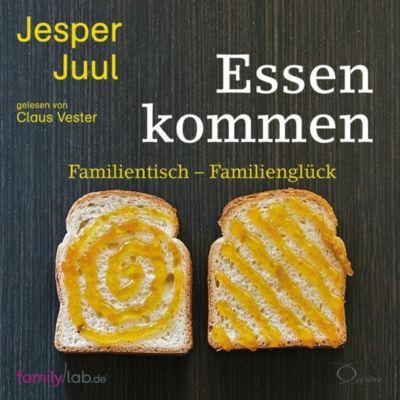 Essen kommen, 4 Audio-CDs, Jesper Juul
