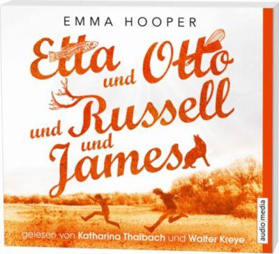 Etta und Otto und Russell und James, 5 Audio-CDs, Emma Hooper