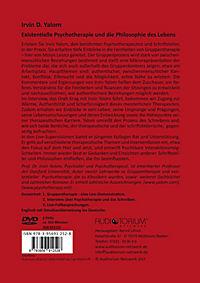 Existentielle Psychotherapie und die Philosophie des Lebens, 2 DVDs - Produktdetailbild 1