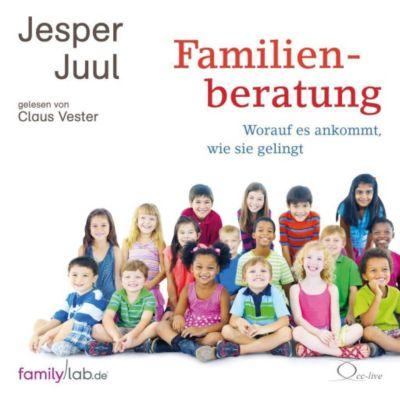 Familienberatung, 5 Audio-CDs, Jesper Juul