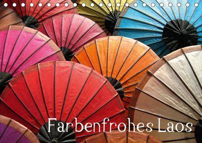 Farbenfrohes Laos (Tischkalender 2018 DIN A5 quer), Heinz Gutersohn