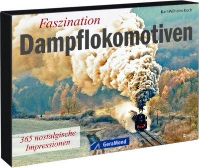 Faszination Dampflokomotiven, Tischaufsteller, Karl-Wilhelm Koch