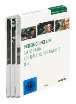 Federico Fellini, 3 DVD Box, Federico Fellini, Ennio Flaiano, Tullio Pinello, Pier Paolo Pasolini, Maria Molinari