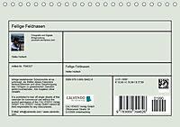 Fellige Feldnasen (Tischkalender 2018 DIN A5 quer) - Produktdetailbild 13