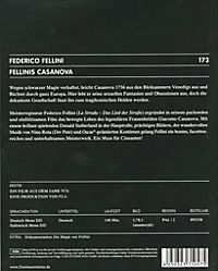 Fellinis Casanova, DVD - Produktdetailbild 1