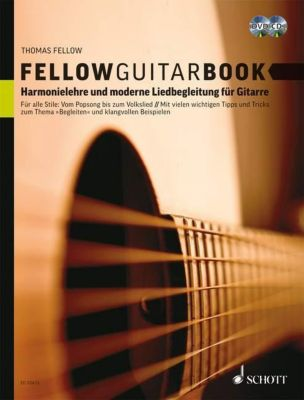 Fellow Guitar Book, m. Audio-CD u. DVD, Thomas Fellow