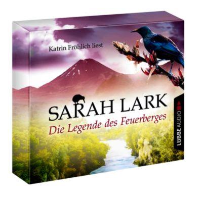Feuerblüten Trilogie Band 3: Die Legende des Feuerberges (10 Audio-CDs), Sarah Lark