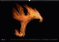Feuerdrache (Wandkalender 2018 DIN A2 quer) - Produktdetailbild 5