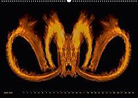 Feuerdrache (Wandkalender 2018 DIN A2 quer) - Produktdetailbild 6