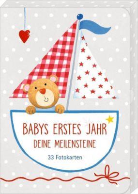 Fotokarten-Box - BabyGlück - Babys erstes Jahr - Deine Meilensteine