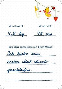 Fotokarten-Box - BabyGlück - Babys erstes Jahr - Deine Meilensteine - Produktdetailbild 5