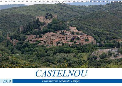 Frankreichs schönste Dörfer - Castelnou (Wandkalender 2019 DIN A3 quer), Thomas Bartruff