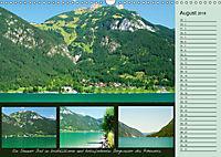 Freizeitparadies Achensee - Genuss-Erlebnisse auf,über und um den See (Wandkalender 2018 DIN A3 quer) - Produktdetailbild 8
