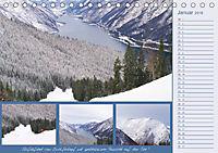 Freizeitparadies Achensee - Genuss-Erlebnisse auf,über und um den See (Tischkalender 2018 DIN A5 quer) - Produktdetailbild 1