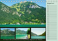 Freizeitparadies Achensee - Genuss-Erlebnisse auf,über und um den See (Tischkalender 2018 DIN A5 quer) - Produktdetailbild 8