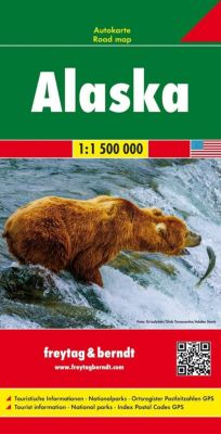 Freytag & Berndt Auto + Freizeitkarte Alaska 1:1.500.000