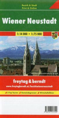 Freytag & Berndt Stadtplan Wiener Neustadt