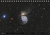 Galaxien des Nordhimmels (Tischkalender 2018 DIN A5 quer) Dieser erfolgreiche Kalender wurde dieses Jahr mit gleichen Bi - Produktdetailbild 2