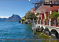 Gandria - Malerisches Fischerdorf am Luganer See (Wandkalender 2019 DIN A2 quer) - Produktdetailbild 3