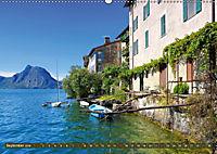 Gandria - Malerisches Fischerdorf am Luganer See (Wandkalender 2019 DIN A2 quer) - Produktdetailbild 9