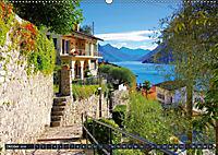 Gandria - Malerisches Fischerdorf am Luganer See (Wandkalender 2019 DIN A2 quer) - Produktdetailbild 10