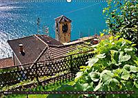 Gandria - Malerisches Fischerdorf am Luganer See (Wandkalender 2019 DIN A2 quer) - Produktdetailbild 5