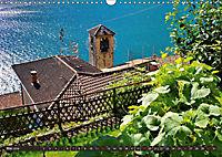 Gandria - Malerisches Fischerdorf am Luganer See (Wandkalender 2019 DIN A3 quer) - Produktdetailbild 5