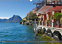 Gandria - Malerisches Fischerdorf am Luganer See (Wandkalender 2019 DIN A3 quer) - Produktdetailbild 3